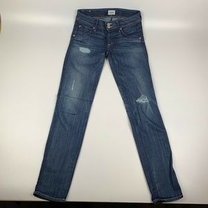 Hudson Jeans Flap Pocket Stretch Straight Leg 27